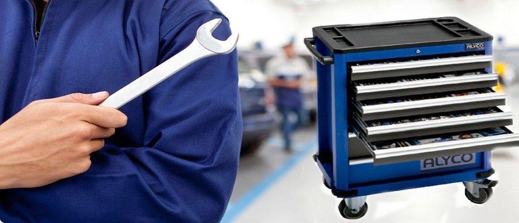 Organiza tus herramientas con los carros de ALYCO